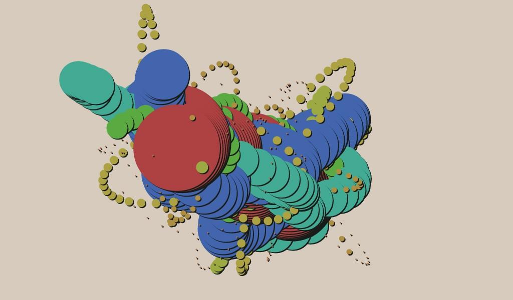 Colorful Entropy, by Juan Irache